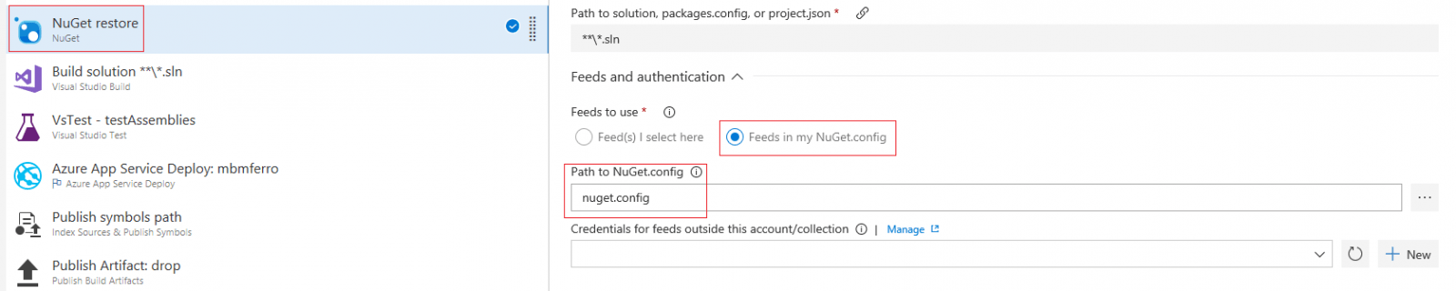 DevExpress NuGet in VSTS
